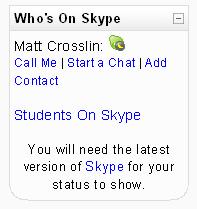 Who's On Skype Screenshot