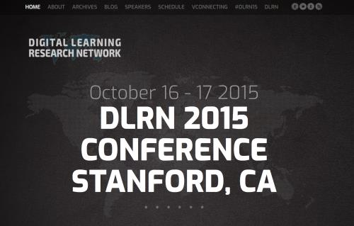 Digital Learning Research Network 2015 Screenshot