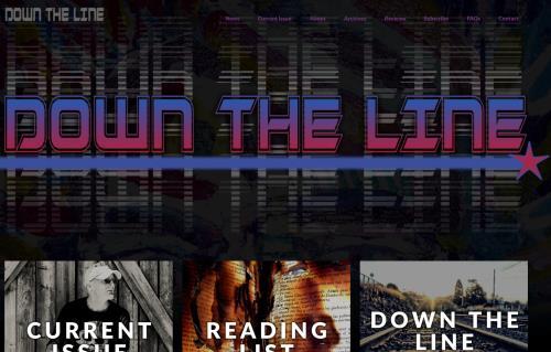 Down the Line Magazine Screenshot