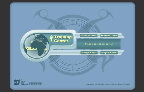 HEC Agent Training Center screenshot